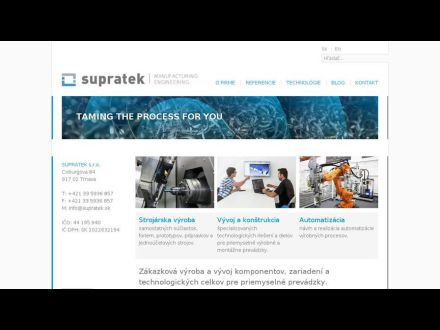 www.supratek.sk