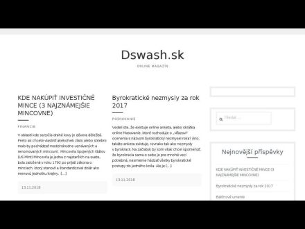www.dswash.sk