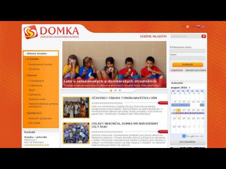 www.domka.sk