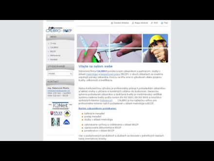 www.calibro-bozp.webnode.sk