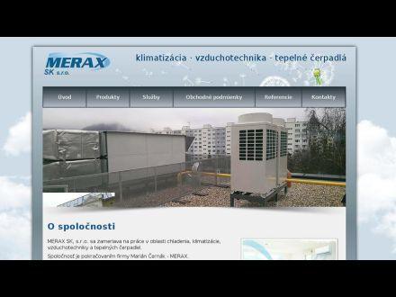 www.merax.sk