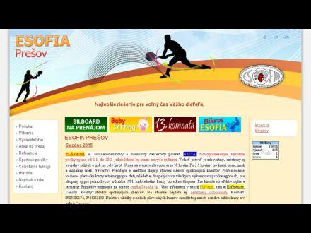 www.esofia.sk