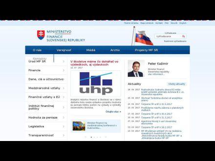 www.finance.gov.sk