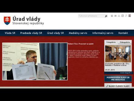 www.vlada.gov.sk