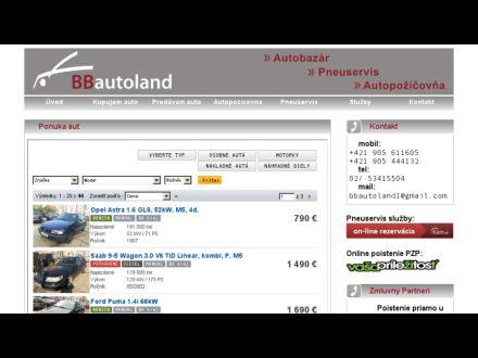 www.bbautoland.sk