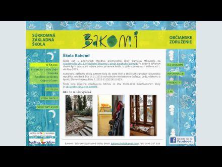 www.bakomi.sk