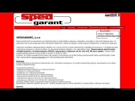 www.spedgarant.sk