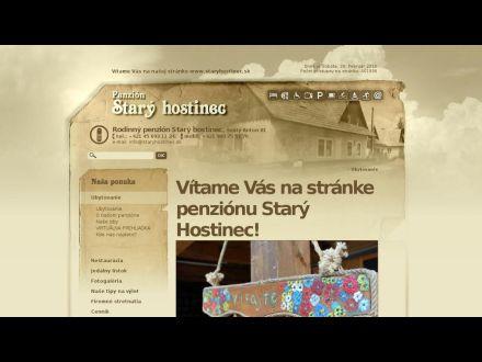 www.staryhostinec.sk