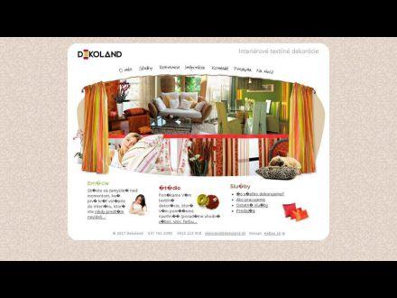 www.dekoland.sk