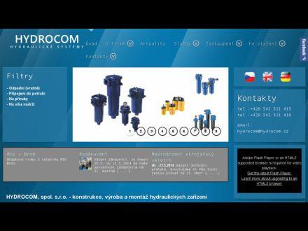 www.hydrocom.cz