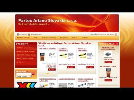 www.arianepro.sk