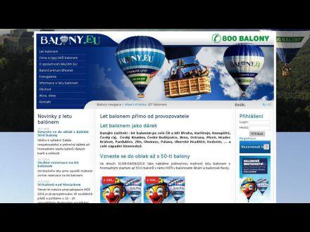 www.balony.eu