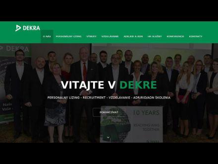 www.dekraslovakia.sk
