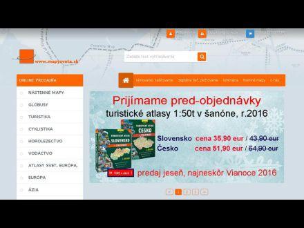 www.mapysveta.sk