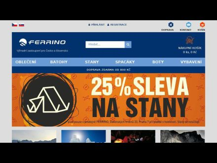 www.ferrino.cz