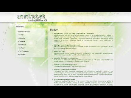 www.anminet.sk