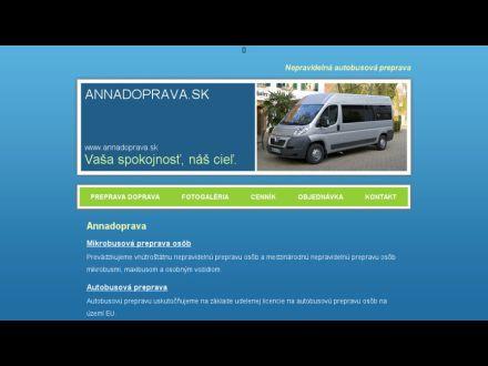 www.annadoprava.sk