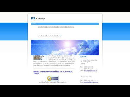 www.pscomp.sk