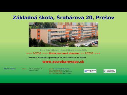 www.zssrobarovapo.edu.sk