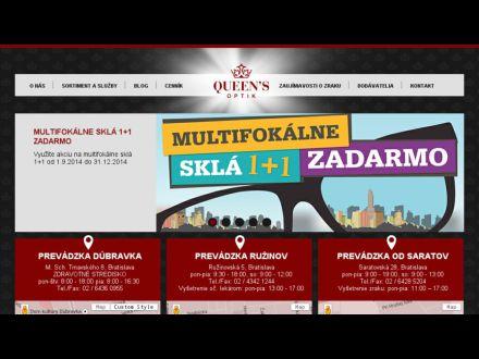 www.queensoptik.sk