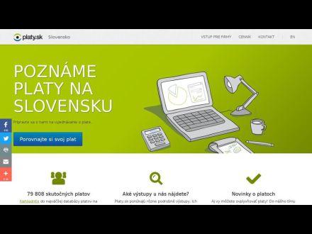 www.platy.sk
