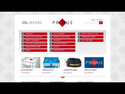 www.primus.sk