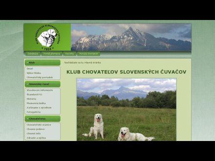 www.slovenskycuvac.info