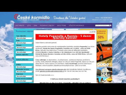 www.ceskekormidlo.cz