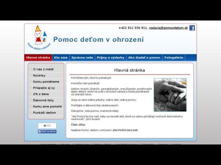 www.pomocdetom.sk
