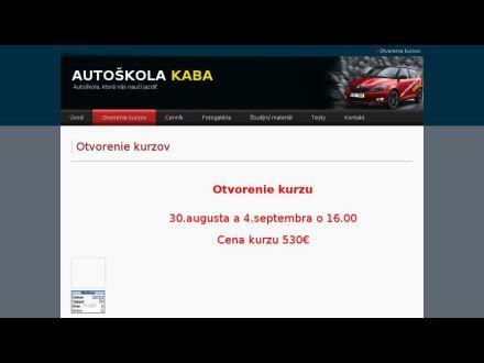 www.autoskolakaba.sk