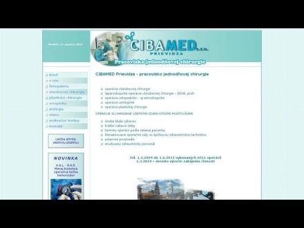 www.cibamed.sk