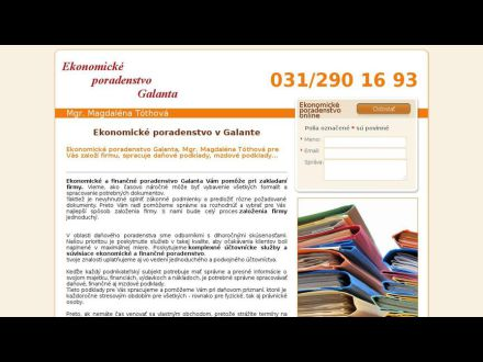 www.uctovnictvo-galanta.sk