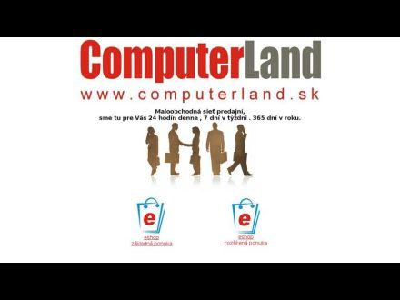 www.computerland.sk