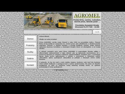 www.agromel.sk