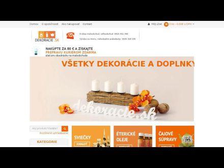 www.dekoracie.sk
