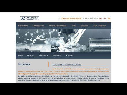 www.jhlprodukt.sk
