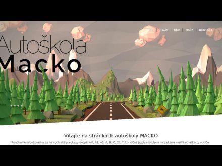 www.autoskolamacko.sk
