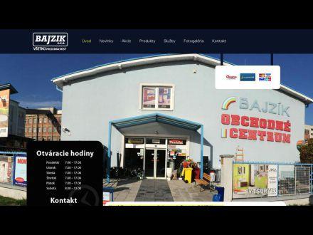 www.bajzik.sk