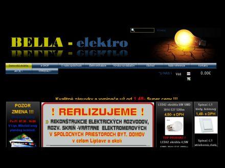 www.bellaelektro.sk