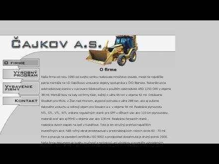 www.cajkov.sk