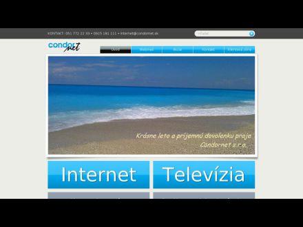 www.condornet.sk