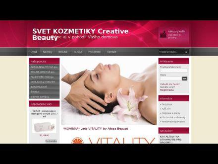 www.creativebeauty.sk