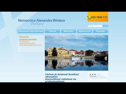 www.nemocnicapiestany.sk