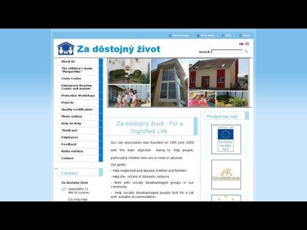 www.dostojnyzivot.sk