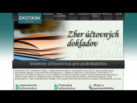 www.ekotask.sk