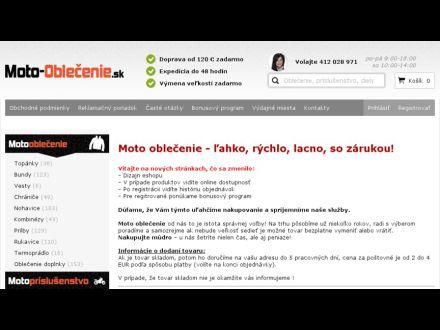www.moto-oblecenie.sk