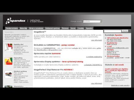 www.spandex.com/sk
