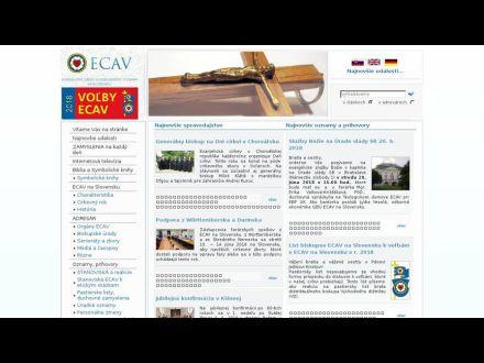 www.ecav.sk/