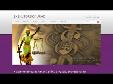 www.exekutorpetruska.sk