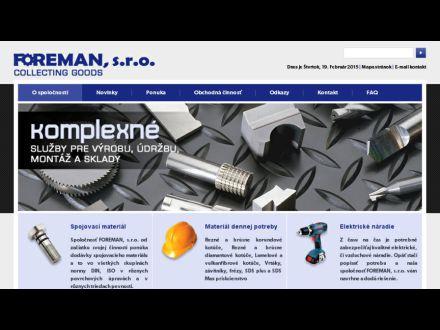 www.foreman.sk